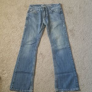 Rock & Roll Cowboy Distressed Jeans